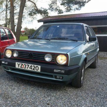 Golf MK2 GTi Syncro